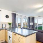 Corner Suite Kitchen & Lounge